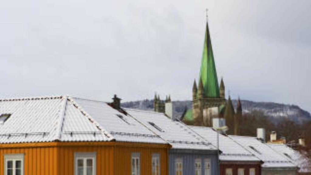 TRONDHEIM: Bygningene på bildet har ikke noe med voldtektssaken å gjøre. Foto: Håkon Mosvold Larsen / Scanpix