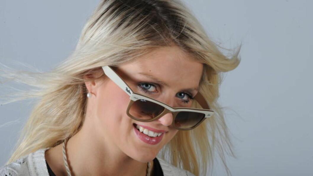 GJØR MODELLOPPDRAG: Men en fast modelltilværelse frister ikke Therese Johaug.  Foto: Erik Berglund