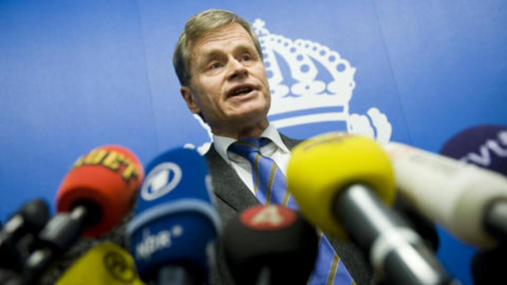 LEDER ETTERFORSKNINGEN: Tomas Linstrand. Foto: AFP/Scanpix