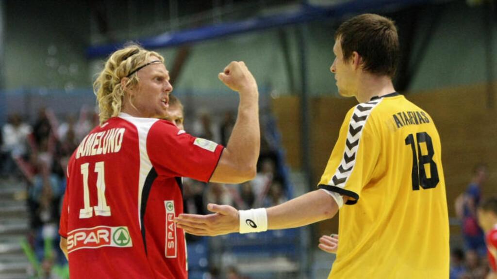 ETTERLYSER MOTSTAND: Erlend Mamelund sier Norge skal ha all honnør av de mange storseirene, men stusser over at en medaljekandidat som Ungarn kan lå seg slå med 21 mål.  Foto: Alf Ove Hansen / Scanpix