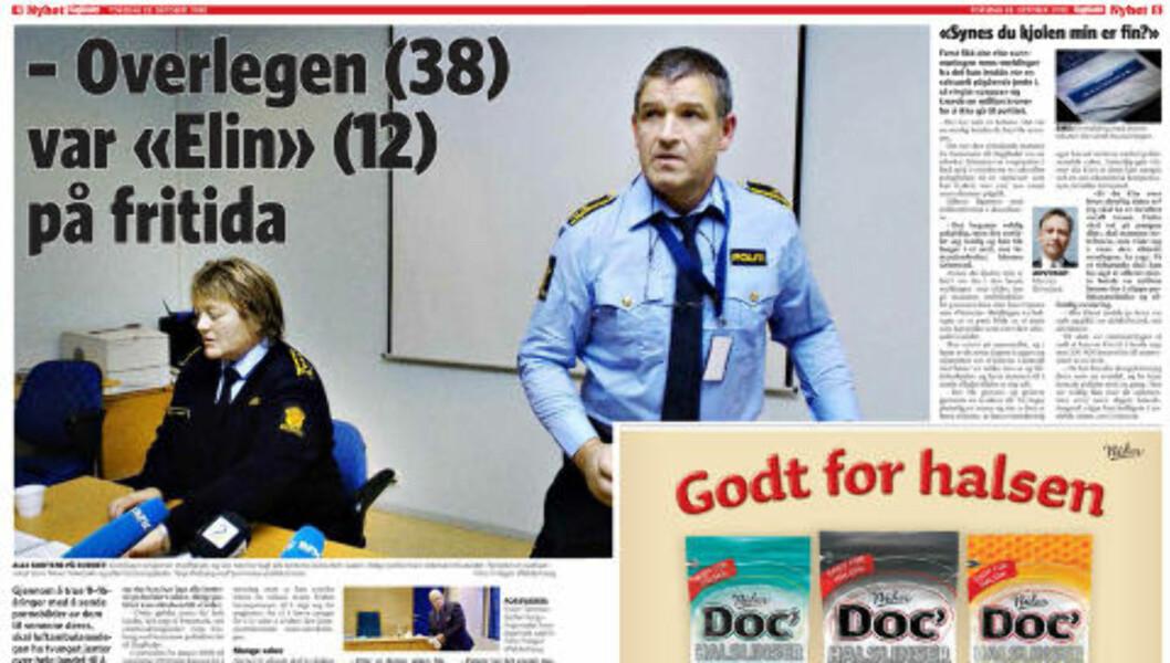<strong>FAKSIMILE:</strong> Mann misten for overgrep mot hundrevis av barn og ungdommer. Mannen er lege overlege anestesilege og jobber blant annet i Norsk Luftambulanse.