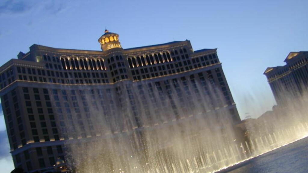 10. I ÅR: Ranet på Bellagio i går var det tiende kasinoranet i Las Vegas så langt i år.  Foto: TOMMY FOSSUM