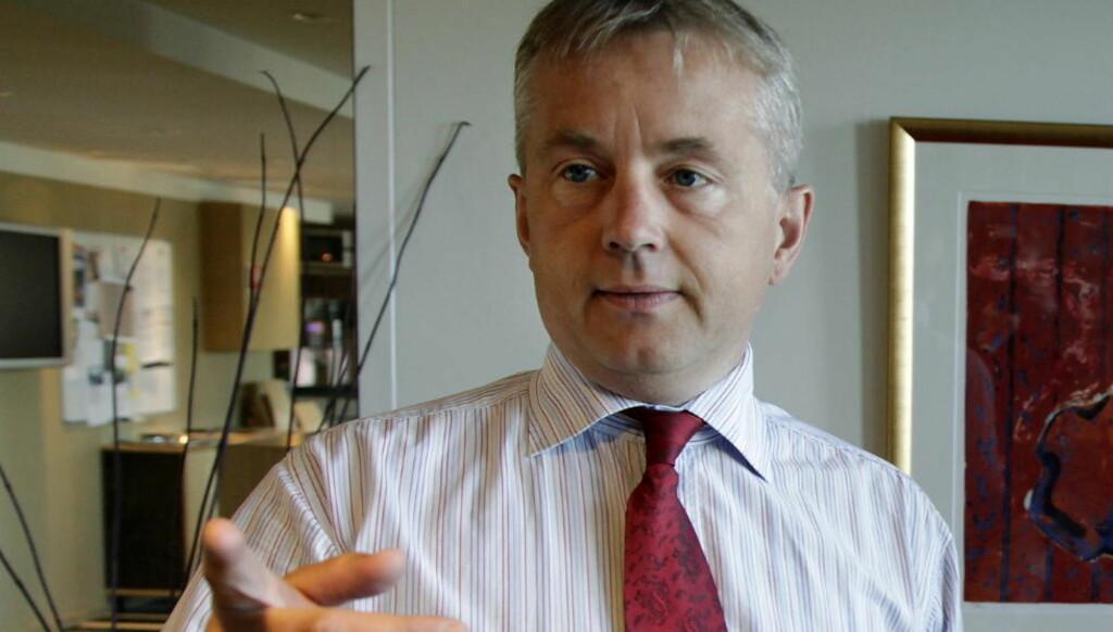 ÅPNER FOR JULEFRI(HET): Justisminister Knut Storberget (Ap) innvilger kirkeasylantene tre dagers amnesti. Foto: Geir Bølstad / Dagbladet