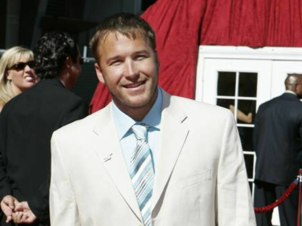 Downhill skier Bode Miller arrives at the 2006 ESPY Awards in the Hollywood area of Los Angeles Wednesday, July 12, 2006. (AP Photo/Chris Carlson) Foto: AP