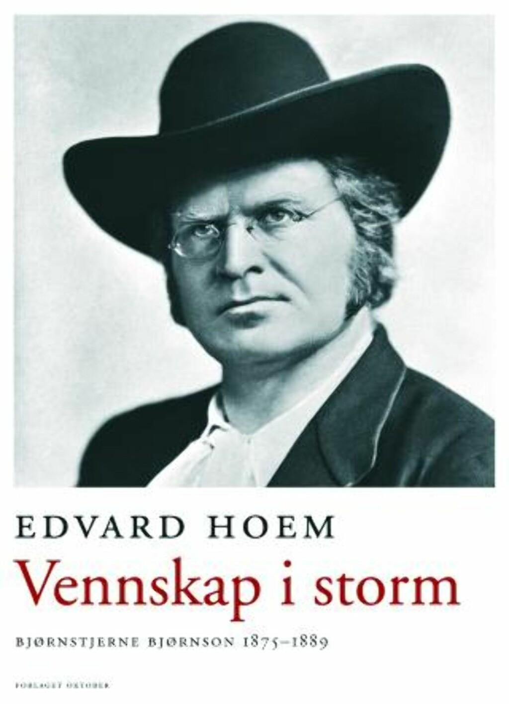 image: Skriver om Bjørnstjerne Bjørnsons år i strid
