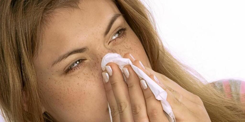 INFLUENSA: Du kan våkne med influensa, selv om du følte deg helt frisk kvelden før.  Illustrasjonsfoto: www.colourbox.com