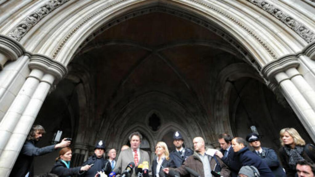 - ASSANGE LØSLATES I DAG: Hans advokat Mark Stephens sier Assange er løslatt seinest i morgen. Foto: AP/Scanpix
