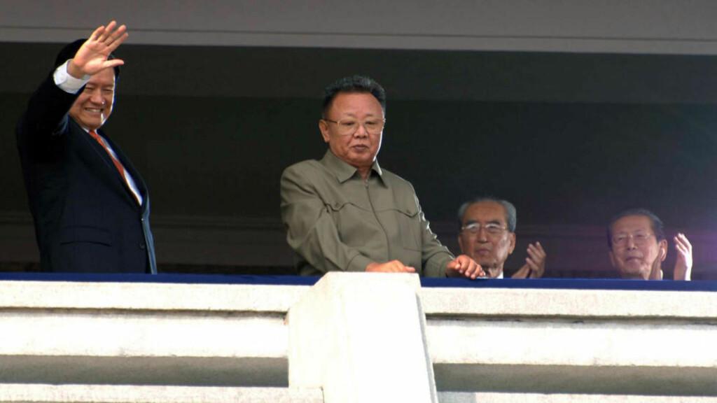 VARSLER ATOMBRUK:  Krig på den koreanske halvøya kommer til å involvere atomvåpen. Foto:  AFP PHOTO / KCNA VIA KNS