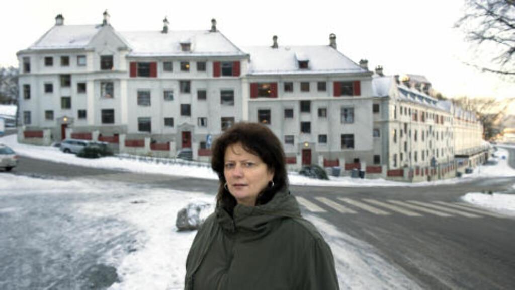 GLAD FOR SEIER: I dag skal vi feire seieren, sier Anne Elisabeth Myklestad, styrer av borettslaget. FOTO: TOR ERIK H. MATHIESEN/DAGBLADET