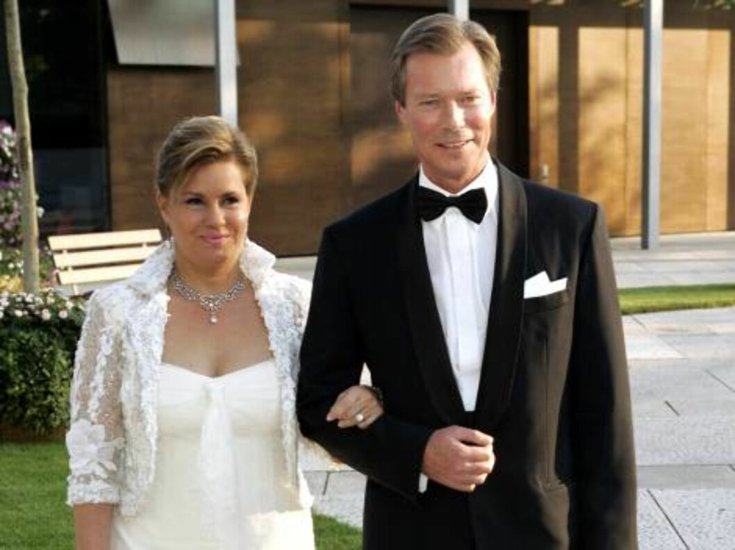 SIlver Wedding Anniversary Celebrations of Grand Duke Henri & Grand Duchess Maria-Theresa of Luxembourg. Reception & special performance at the Grand Theatre. Picture: UK Press Foto: All Over Press
