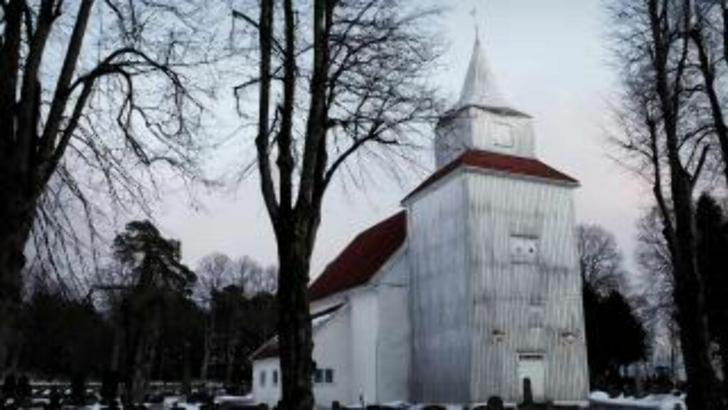 FJÆRE KIRKE:  Begravelsen ble avholdt i Fjære kirke i Grimstad. Foto: Erling Hægeland