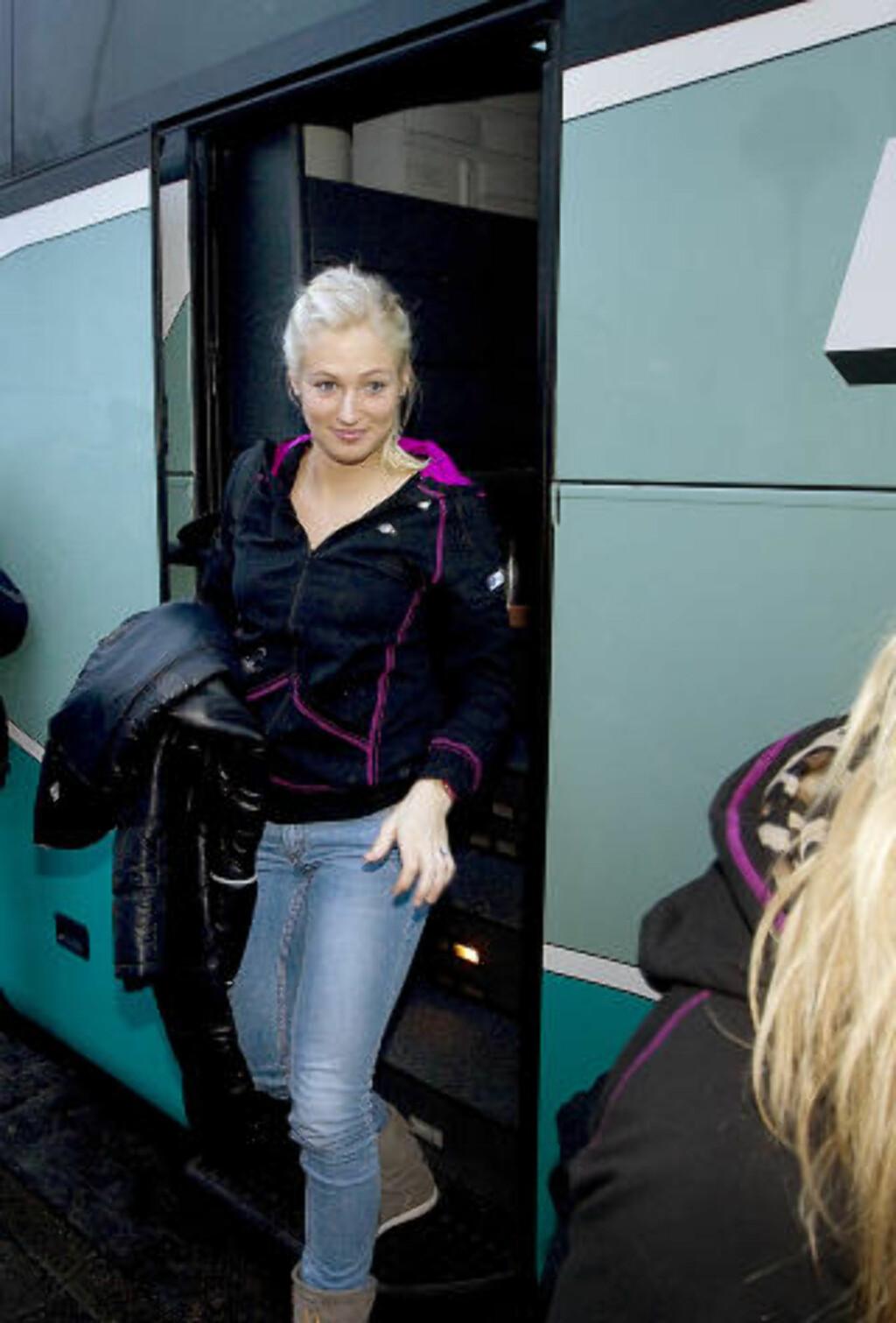 VIL KLINKE TIL: Linn Jørum Sulland lover å klinke til om hun få sjansen mot Danmark i morgen. Foto: BJØRN LANGSEM