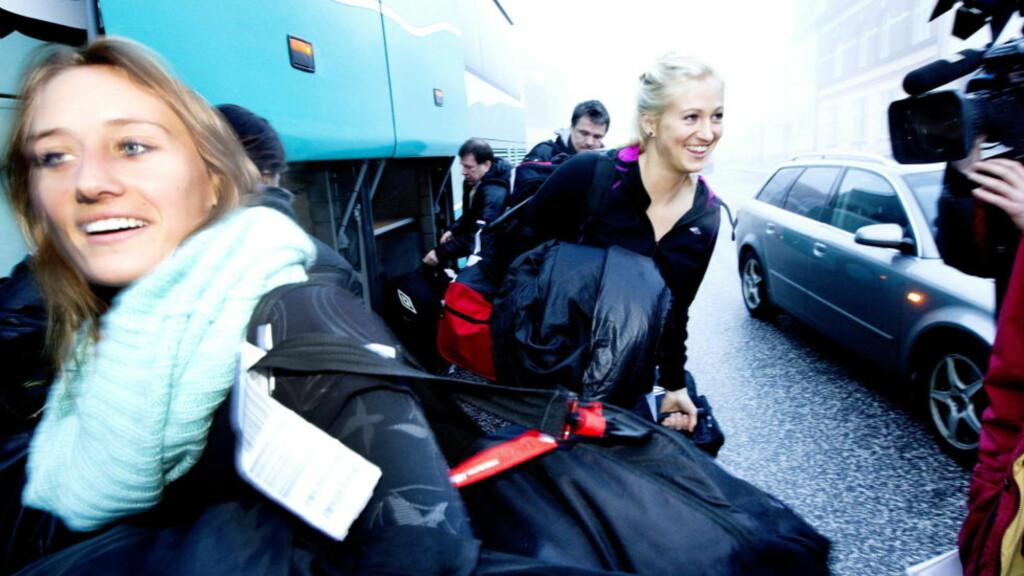 INN I 12. TIME: Linn Jørum Sulland hadde ikke forventet å bli hentet inn til EM. Nå blir hun kastet rett inn i semifinalen. Foto: GORM KALLESTAD/SCANPIX