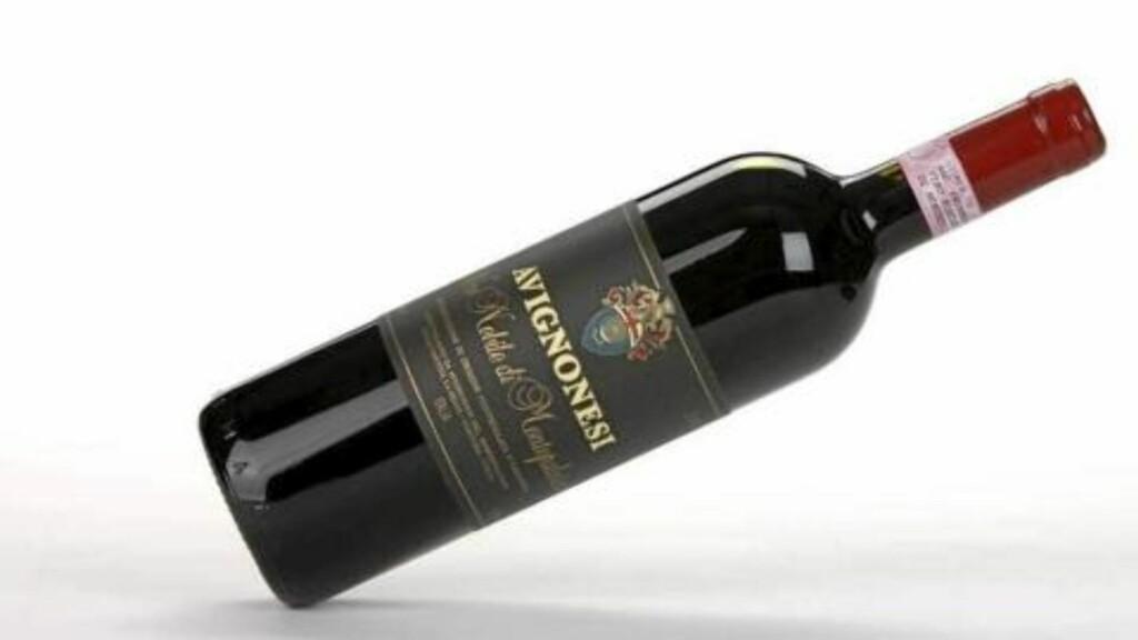 Avignonesi Vino Nobile di Montepulciano 2007. Foto: Petter Berg/HM-foto