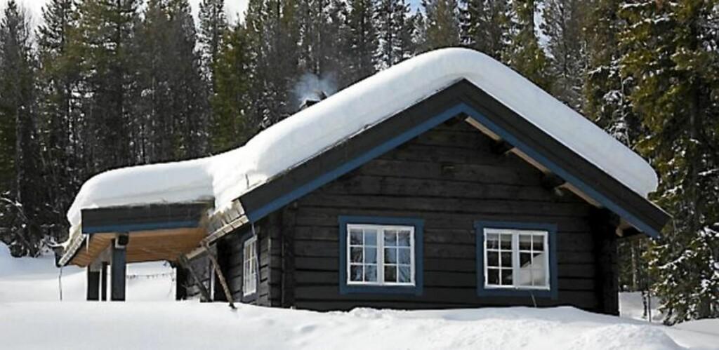 TRIVELIG OMRÅDE: Tømmerhytta Innsikt ligger i et hyggelig område med fine stølsveier, små hytter, gode fiskemuligheter og perfekte skiforhold. FOTO: Per Erik Jæger