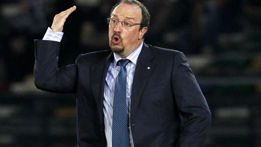 STILTE ULTIMATIUM: Rafael Benitez krevde nye spiller til Inter etter VM-seieren. Foto: AP/Hassan Ammar