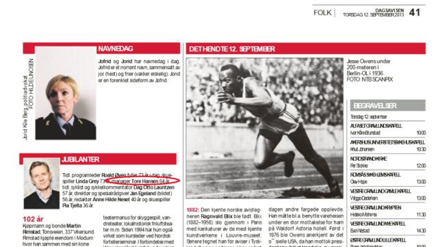 13fb75d9 SVIKT: Torsdag denne uken gratulerte aviser som Aftenposten, Dagsavisen  (bildet), Bergens