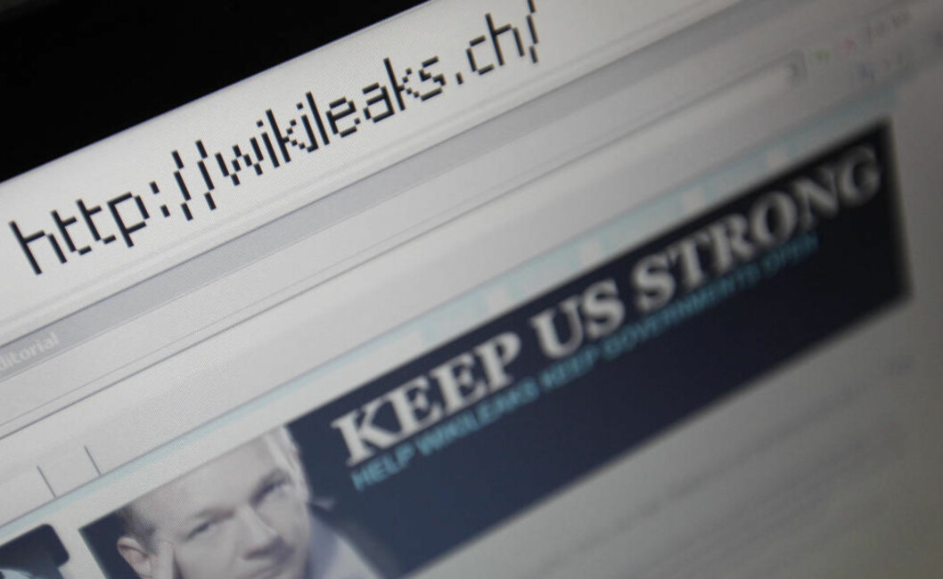 <strong>- LEKKES TIL AFTENPOSTEN:</strong> Aftenposten skal være eneste mediehus i verden som har sikret seg ubegrenset tilgang til samtlige WikiLeaks-dokumenter. Foto: REUTERS/Pascal Lauener/SCANPIX