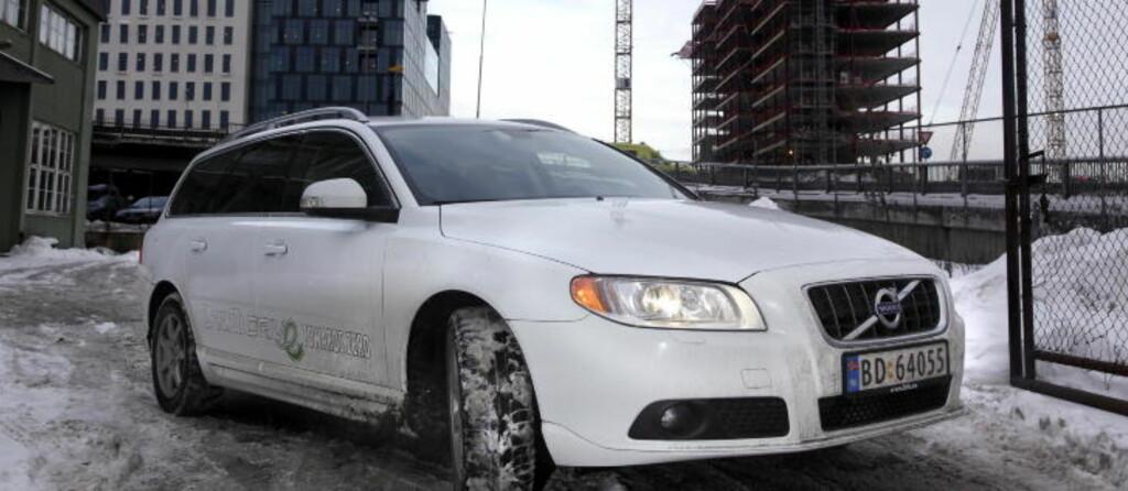 STORSELGER: Nummer to på salgsstatistikken i Norge hittil i år er Volvo V70. Foto: HANS A. VEDLOG