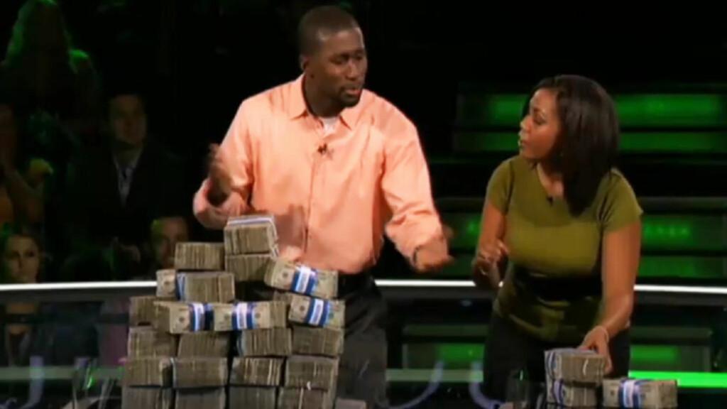 BITTERT:  Her overtaler Gabe Okoye kjæresten Brittany Mayi til å satse alt på Post-it-lapper. Han har rett, men taper likevel 4,8 millioner.