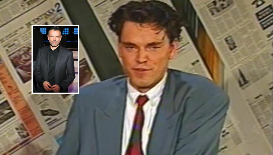 FIKK PROBLEMER: ABTVs valgsendinger i 1993 ble en prøvelse for Øyvind Mund. Foto: ABTV