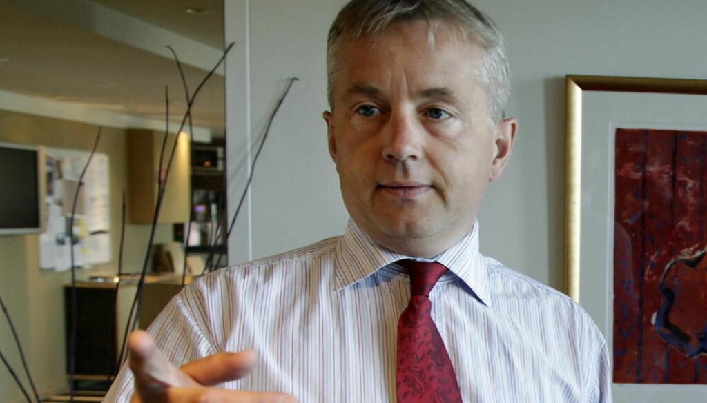 BEKYMRET: Justisminister Knut Storberget frykter barn som forsvinner fra asylmottak kan være utsatt for menneskehandel. Foto: Geir Bølstad / Dagbladet