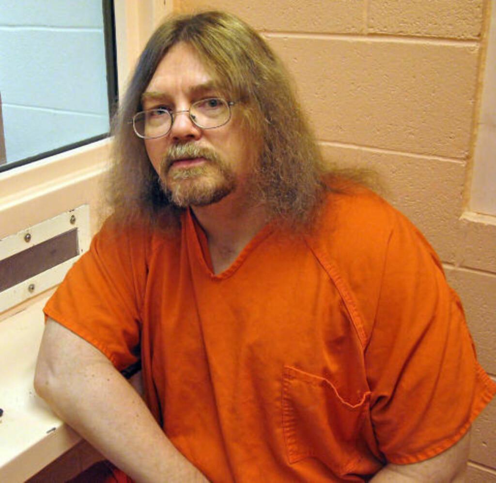 DØDSDØMT: Ronald Smith (53) er den eneste kanadieren som sitter på dødscelle i USA. Etter planen skal han henrettes i Montanas statsfengsel 31. januar neste år, for å ha drept to menn i 1982. Foto: BILL GRAVELAND/THE CANADIAN PRESS/AP/SCANPIX