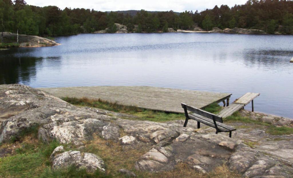 UTFARTSSTED: Baneheia i Kristiansand er et populært utfartsområde for barnefamilier. Det er også stedet der to jenter på åtte og ti år ble voldtatt og drept i mai 2000. Hit kom altså den overgrepssiktede 45-åringen for å ta bilder av nakne småbarn - mens Baneheia-saken pågikk for fullt. Foto: KJELL INGE SØREIDE/DAGBLADET