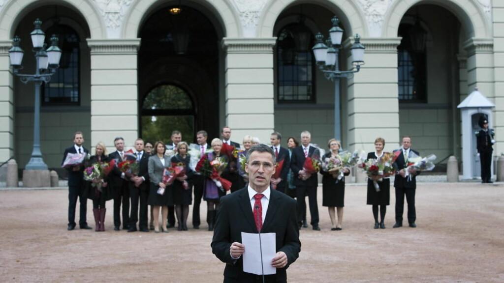 REGJERINGEN: Bare to av fem ønsker at den nåværende regjeringen fortsetter. Foto: Henning Lillegård / Dagbladet