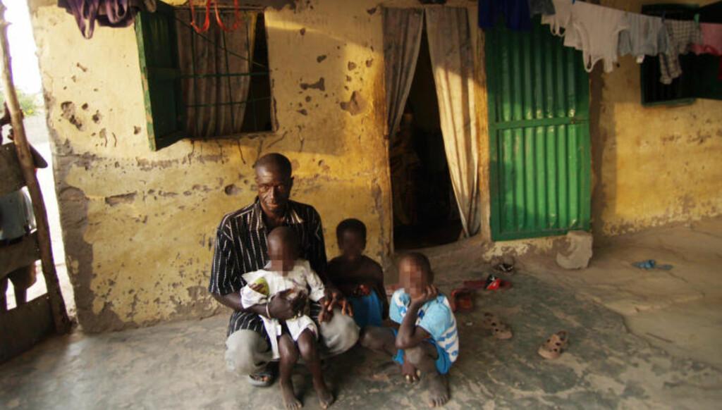 - FORTSATT VENN: Bakari Bojenj er far til fire av barna nordmannen skal ha blitt funnet sammen med. Han sier han vil fortsette vennskapet med 45-åringen. Foto: TORGEIR P. KROKFJORD/DAGBLADET