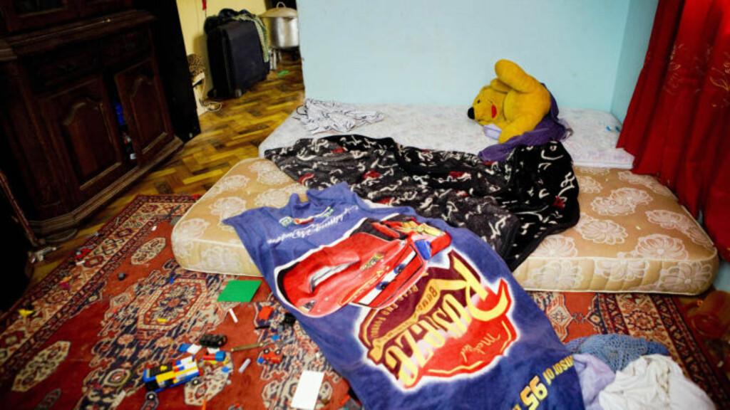 ÅSTEDET: Det var her, på nordmannens soverom, at politiet fant ham sammen med seks smågutter søndag kveld. Foto: TORE MEEK/SCANPIX