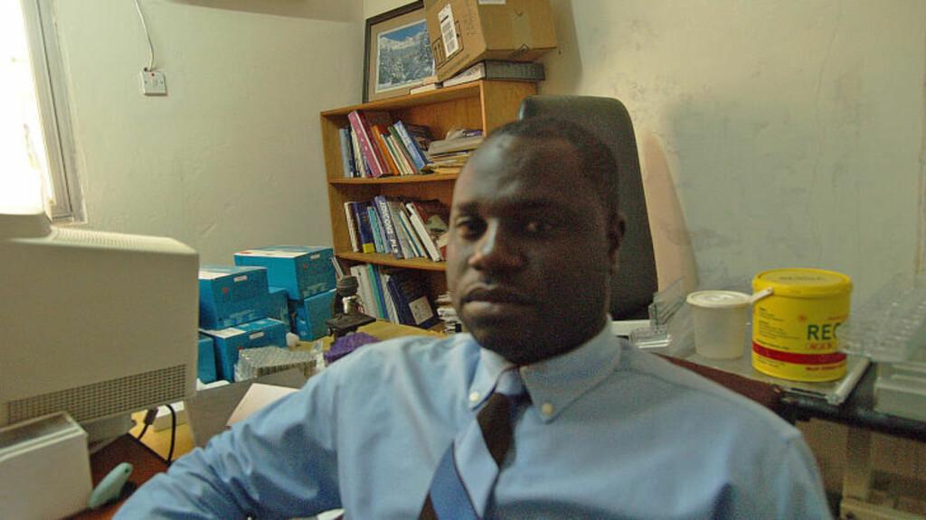SER EN ØKNING: Ibrahima Jallow og APAP jobber mot overgrep mot barn i Gambia. Organisasjonen mener å se en klar økning i antall overgrep mot barn utført av turister. Foto: Torgeir P. Krokfjord / Dagbladet