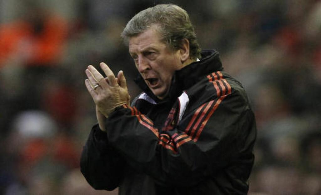 HARDT PRESSET: Roy Hodgson. Foto:  REUTERS/Phil Noble