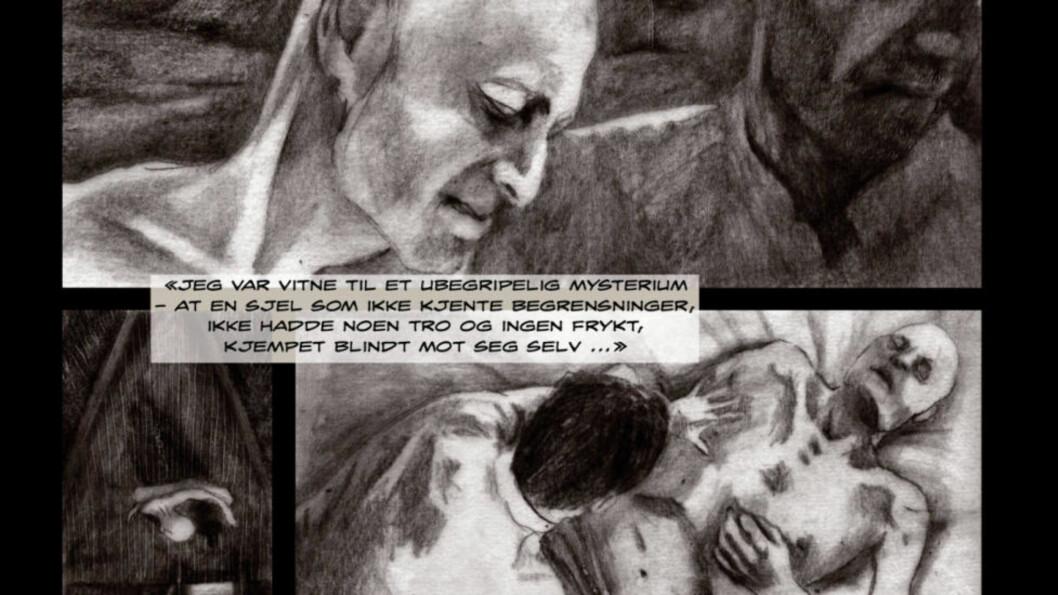 JOSEPH CONRAD: I den intense, visuelt sugende tegneserien «Mørkets hjerte» har hovedpersonen Marlow fått forfatteren Joseph Conrads trekk.