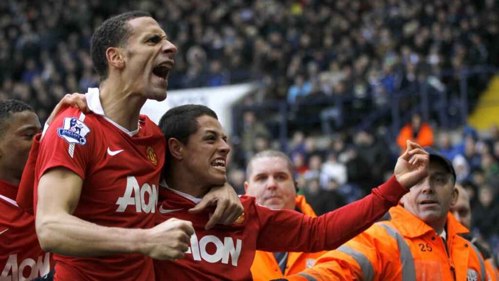 VIKTIGST Å VINNE: Javier Hernandez sørget for at Manchester United fortsatt er ubeseiret i ligaen med sin scoring mot Birmingham i romjula. Rio Ferdinand mener poengene er viktigere enn vakker fotball.Foto: SCANPIX/AP/Kirsty Wigglesworth