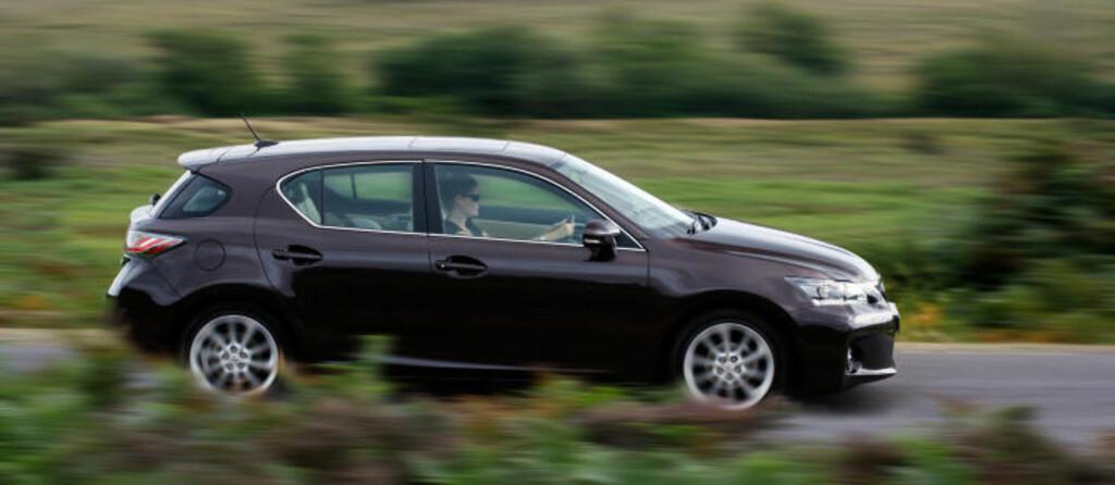 PREMIUM KOMPAKTBIL: I år lanserer Lexus sin første kompaktbil med hybridløsning.