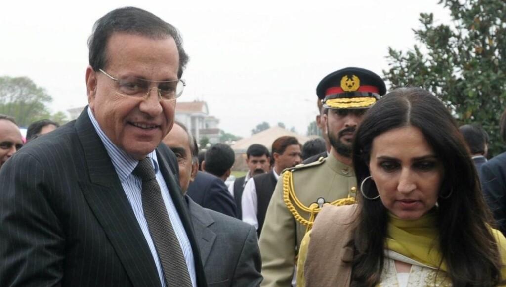 DREPT: Guvernør for Punjab-provinsen, Salman Taseer, ble skutt og drept av sin egen livvakt. Her fra en tidligere anledning sammen med kona. Foto: EPA/T. MUGHAL/Scanpix