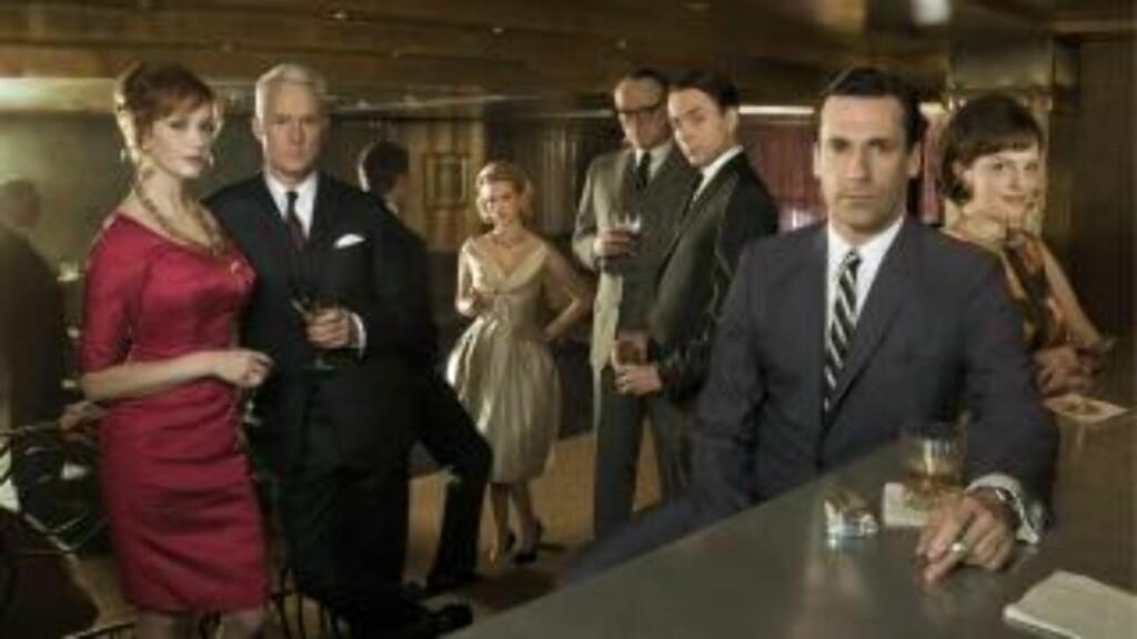 SUKSESS: «Mad Men» har vunnet alle de store fjernsynsprisene i USA de siste årene.