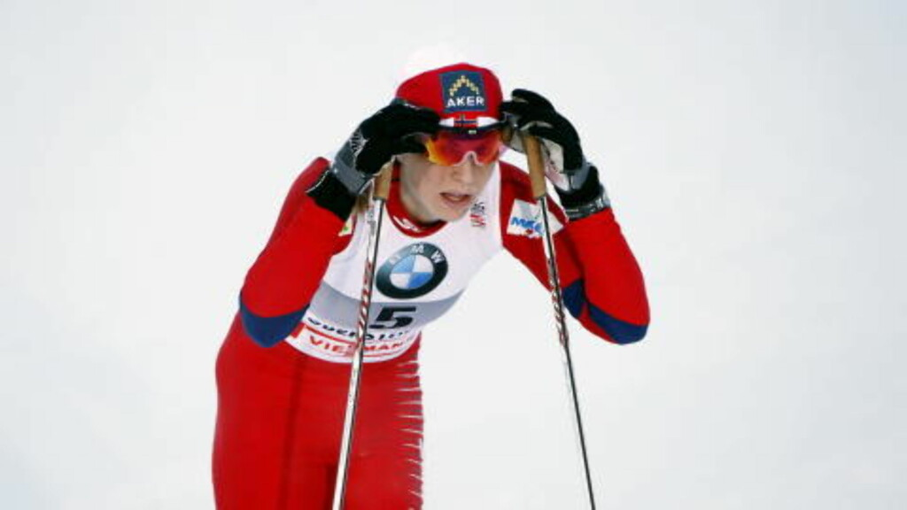 SKUFFET: Ingen av de norske jentene kom seg videre til semifinalenOberstdorf mandag. Her Jacobsen etter målgang. Foto: Gorm Kallestad / Scanpix