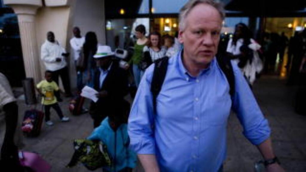 I GAMBIA: Advokat Sigurd Klomsæt kom i går til Gambias hovedstad Banjul. Foto: Tore Meek / Scanpix