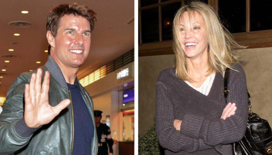 DANSET LITT FOR MYE: Heather Locklear avslørte under sitt besøk på talkshowet «Chelsea Lately» at hun på 80-tallet gikk på date med Tom Cruise Foto: All Over