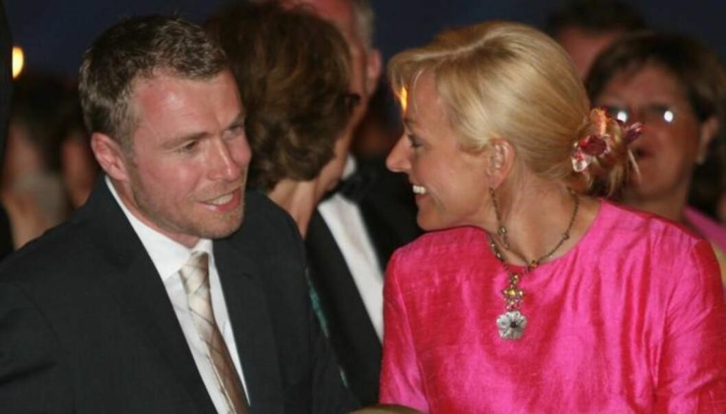 KJÆRESTER: Vår Staude og OL-mester Knut Holmann har vært sammen i rundt åtte år. Foto: Se og Hør, Morten Krogh
