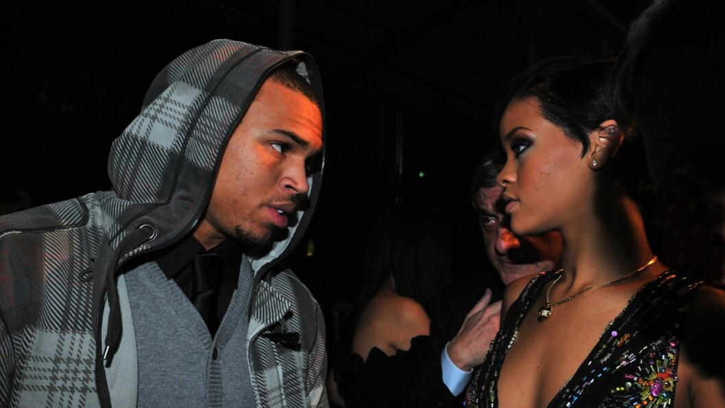 SLUTT: Ifølge Chris Brown er forholdet mellom han og Rihanna over. Foto: Stella Pictures
