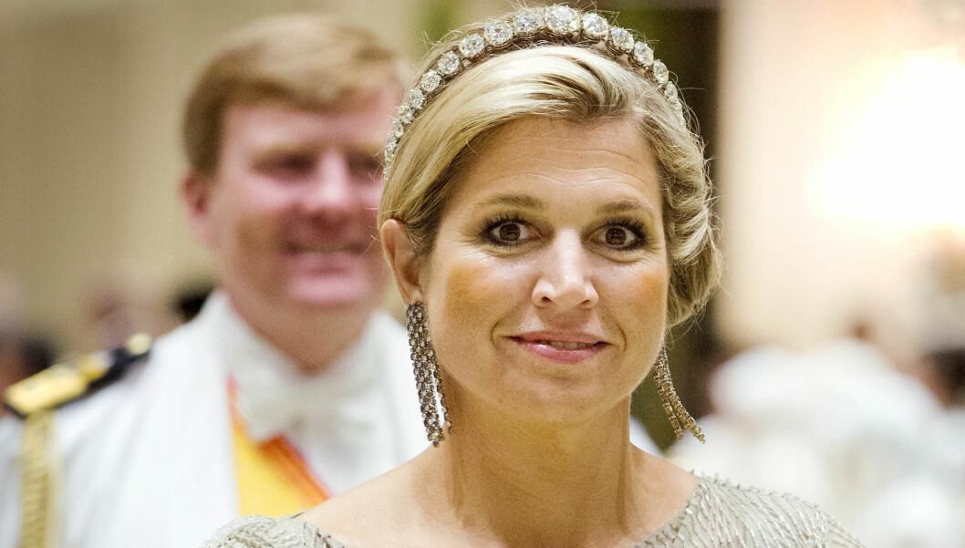 GREPA KVINNE: Da argentinske Maxima ble forlovet med kronprins Willem-Alexander for rundt 10 år siden ble det ramaskrik i Nederland. Det var nemlig kontroversielt at Maximas far Jorge Rafael Videla var en del av det daværende diktatorregime i Argentina, Foto: Stella Pictures