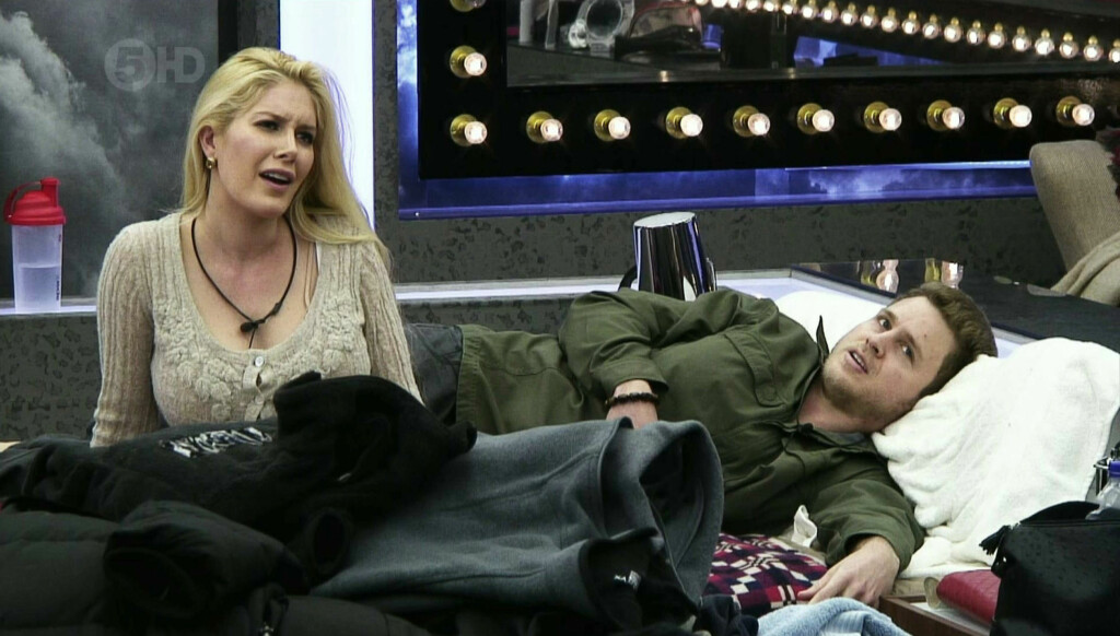 BIG BROTHER: Heidi Montag og Spencer Pratt er for tiden inne i det britiske Big Brother-huset, der de nylig hadde sex foran TV-kameraene.  Foto: Fame Flynet