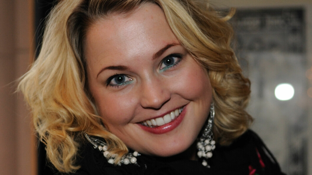GRAVID: Helene Bøksle venter sitt første barn i 2013. Foto: Stella Pictures