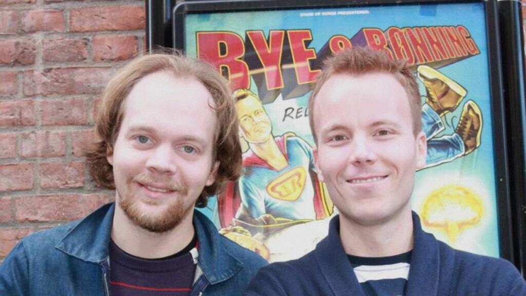 "POPULÆRE: Duoen Anders Bye og Jon Niklas Rønning har gjort stor suksess med ""Bye & Rønning"". Foto: Adéle C. Blystad/Seher.no"