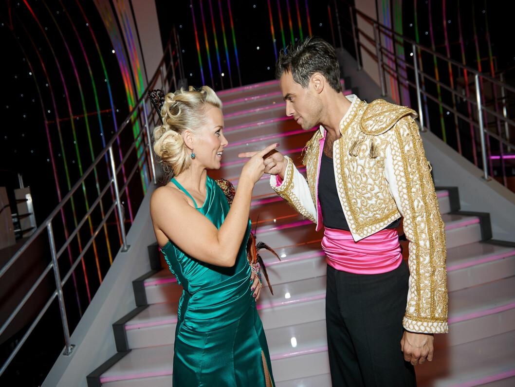TØFF KONKURRANSE: Hanne Sørvaag og Ben Adams møtte hverandre i finalen lørdag kveld. Foto: Stella Pictures
