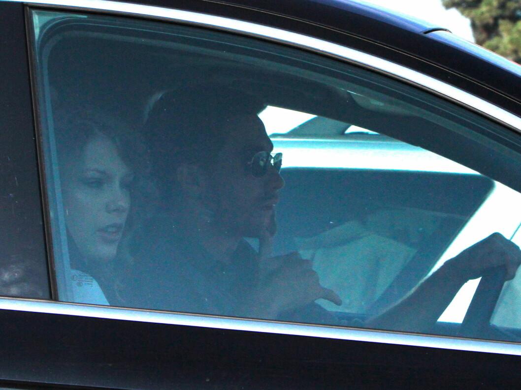 BRUDD: Taylor Swift og Jake Gyllenhaal hadde et kort forhold i 2011, før han slo opp med henne. Foto: All Over Press