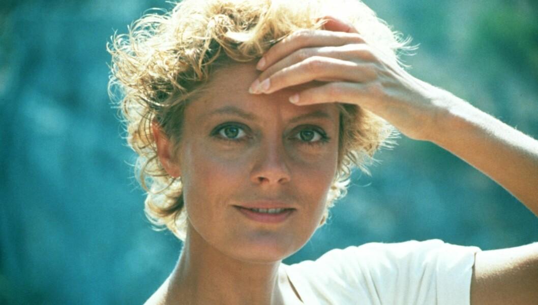 <strong>UNG:</strong> Susan Sarandon har lang fartstid innenfor amerikansk filmbransje. Dette bildet er fra filmen «Tempest» som ble spilt inn i 1982. Foto: Stella Pictures